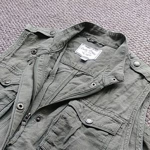 Lucky Brand army green utility vest